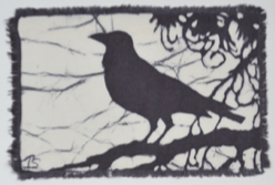 crow1-2013 batik © Toni Spencer