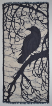 crow3-2013 batik © Toni Spencer