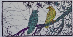 crow 6-2012batik © Toni Spencer