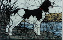 Springer Spaniel batik &copy Toni Spencer