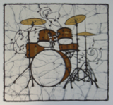 Keep The Beat batik &copy Toni Spencer
